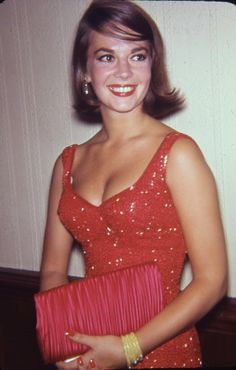 Natalie Wood beautiful, candid photo of her.