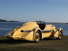 1935 Duesenberg SJ 'Mormon Meteor' Special, one of the early land speed record holders, set on the Bonneville Salt Flats...