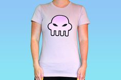 """<p> <span style=""""font-size: 16px;"""">Rose's Purple Squiddle - Mauve Girly T, as worn by Rose Lalonde.</span></p> <p> Women's t-shirt. Printed on LADIES American Apparel 100% fine ring-spun combed cotton in Mauve.</p> <p> Not sure what size to get?<a href=""""http://www.whatpumpkin.com/images/D/AA-ladies.gif"""" onclick%..."""