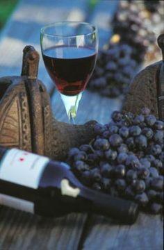 Wine tasting...
