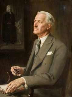 Sir Harold Williams, FBA, Chairman of Hertford County Council by John Thomas Young Gilroy.