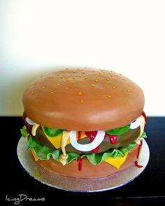 Big Burger Cake !