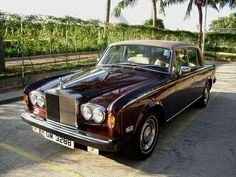 My Former Car 1977   Rolls Royce in Hong Kong