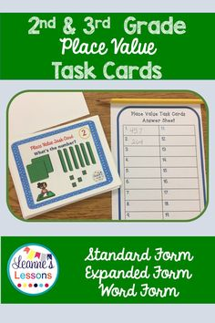 Place Value to Thousands Task Cards