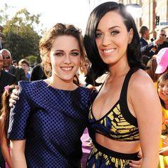 Kristen Stewart i Katy Perry - Nickelodeon Kids' Choice Awards 2013