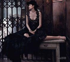 Dark Beauty (Vogue Australia)