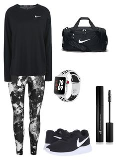 """""""Nike"""" by kristagoats on Polyvore featuring USA Pro, NIKE, Apple and Forever 21"""