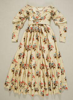 Evening dress ca. 1841