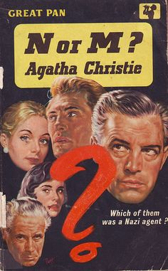 'N or M' - Agatha Christie by letslookupandsmile, via Flickr