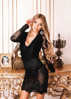 Perfect Wife, Short Dresses, Fashion Black, Formal, Outfits, Collection, Girls, Style, Short Gowns