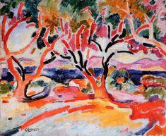 Georges Braque L'Olivier ♥ Inspirations, Idées & Suggestions, JesuisauJardin.fr, Atelier de paysage Paris, Stéphane Vimond Créateur de jardins ♥