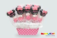 Brochetas De Bombon Minnie Mouse - $ 13.00 en MercadoLibre                                                                                                                                                     Más