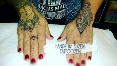 Hand Henna, Hand Tattoos, Hands
