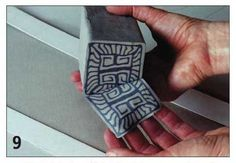 Creating Nerikomi Blocks: Decorating with Colored Clay Patterns. By Faith Rahill, Found on Ceramic Arts Daily, April 18, 2012. This design easily translates to polymer.