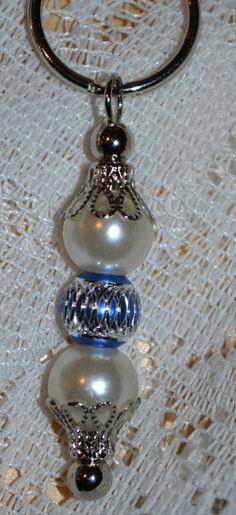 Custom Beaded Key Chain/Key Fobs / Beaded by StaziesStitchsNStuff, $8.95
