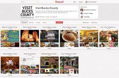Visit Bucks County Showcases It's Beauty Through Pinterest