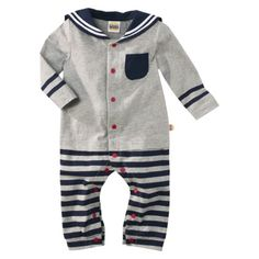 Harajuku Mini for Target® Infant Boys' Sailor Romper - Grey @Sandra Vanderbeck Heyrich Link
