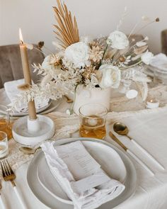 Beige Wedding, Floral Wedding, Wedding Flowers, Round Wedding Tables, Wedding Table Settings, Place Settings, Wedding Shower Decorations, Bridal Shower Centerpieces, Centrepieces
