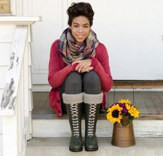 Wellie Warmers by Pam Powers Knit Boot Liner Kit