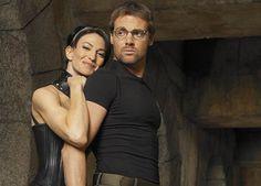 Daniel & Vala from Stargate SG-1 ...a strange kind of destiny.