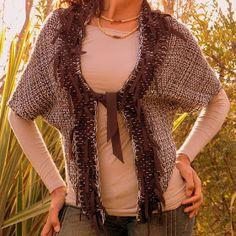 Vero Amore Tejidos Artesanales Kimono Top, Cover Up, Sweaters, Tops, Dresses, Women, Fashion, Vestidos, Weaving Looms