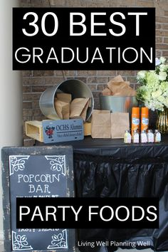 These are the best outdoor graduation party food ideas on a budget that you will want to copy! Graduation Party Desserts, Outdoor Graduation Parties, Graduation Party Planning, Party Food On A Budget, Theme Ideas, Party Ideas, College Tips, Crowd, Food Ideas