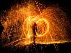 Flame+Spinning
