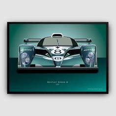 Bentley Speed, Car Prints, Le Mans Series, Art Calendar, Car Posters, Sale Poster, Poster Wall, How To Draw Hands, Racing