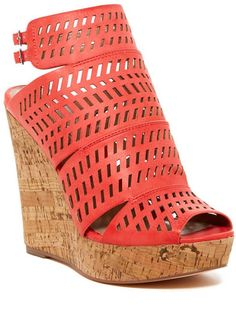 Charles By Charles David Apt Ankle Strap Wedge Platform