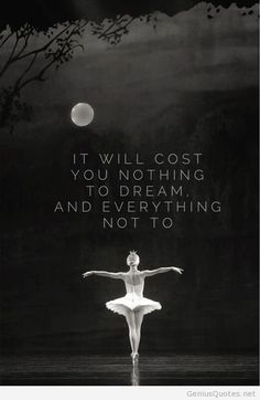 a group of dancers who have preformed in the ballet Swan Lake. Dance Like No One Is Watching, Just Dance, Ballet Quotes, Ballerina Quotes, Image Citation, Hip Hop, My Passion, Beautiful Words, Dream Big