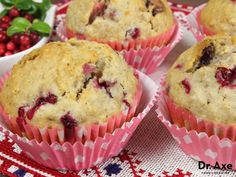 Gluten Free Berry Muffins Recipe