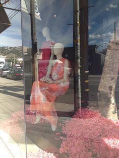 Monique Lhuillier Store Boutique on Robertson Blvd Los Angeles California