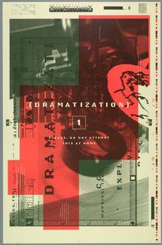 Rudy VanderLans, Emigre Graphics: Dramatization, 1995
