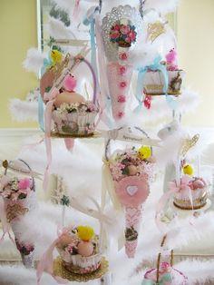 Loving all the vintage Easter!