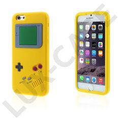 Fri Frakt. GameBoy (Gul) iPhone 6 Skal 09c657bb43b9b