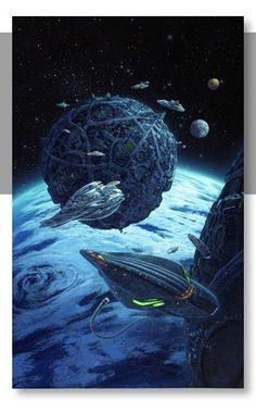 Greg Bridges: Futuristic - Colony Fleet