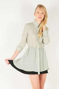Nice, airy, spring-timey shirtdress from Kimberly Taylor's Spring 2011 collection.