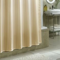 Stripe Extra Long Shower Curtain Metro Dengan Gambar