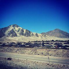 Desierto de Atacama em Atacama, Región de Antofagasta, Chile