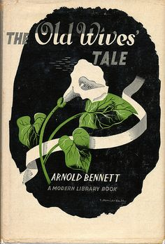 The Old Wives' Tale cover by E. McKnight Kauffer 1959