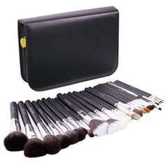 [New Item Deal]Docolor 29Pcs Most Professional Sable Goat Pony Hair Makeup Brushes Set With Leather Case -- Visit the image link more details.
