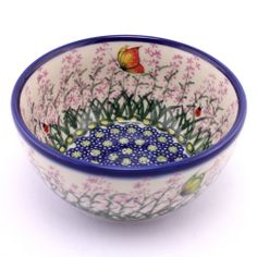 Polish pottery lavender bowl, awesome! Can be found at http://slavicapottery.com