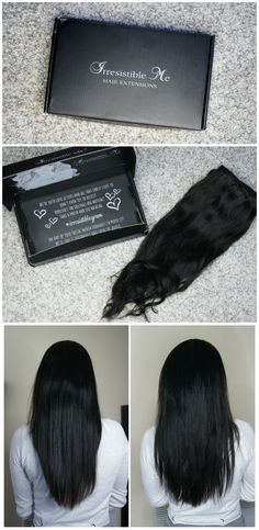 Irresisitible Me Silky Touch Clip-In Hair Extensions Review & Before/After Photos. High-quality, affordable extensions that look natural, feel comfortable and don't damage the hair.