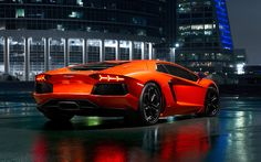 HD Wallpapers Widescreen P D Lamborghini Aventador