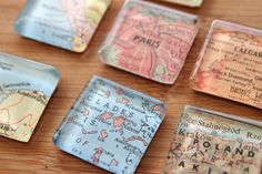 I'm seriously considering getting these to commemorate all the places we've been/will go in the future!