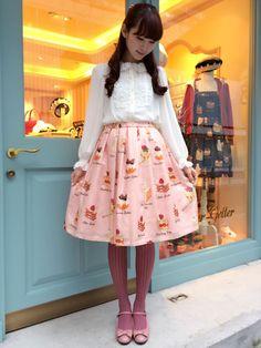 Leur Getter大阪店BLOG Harajuku Fashion, Kawaii Fashion, Lolita Fashion, Cute Fashion, Retro Fashion, Womens Fashion, Larme Kei, Japanese Harajuku, Really Cute Outfits