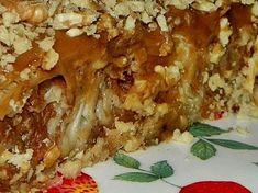 Placinta invartita cu mere si crema caramel - imagine 1 mare