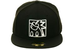 The Hundreds Square Adam Bomb Fitted Hat by New Era The Hundreds, Black And White, Hats, Fitness, Fashion, Moda, Black N White, Hat, Fashion Styles