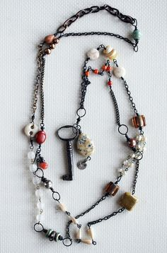 Antique Key Necklace | Flickr - Photo Sharing!