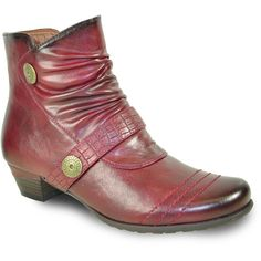 VANGELO Women Boot SD6400 Ankle Dress Boot Bordo Red Dress With Boots, Metal Buttons, Online Shopping Stores, Your Shoes, Heeled Boots, Footwear, Ankle, Heels, Red